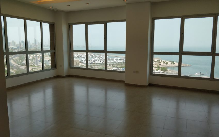 Panoramic Sea View 3 Bedroom Apartments For Rent in Kuwait