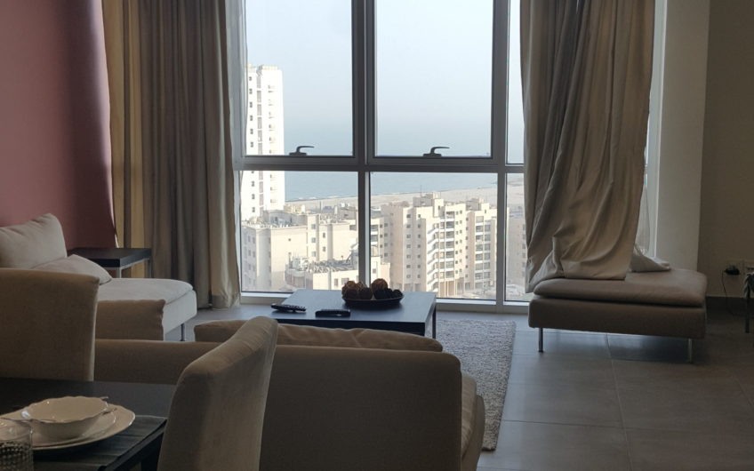 Sea View semi furnished and furnished apartments in Salmiya For Rent in Kuwait