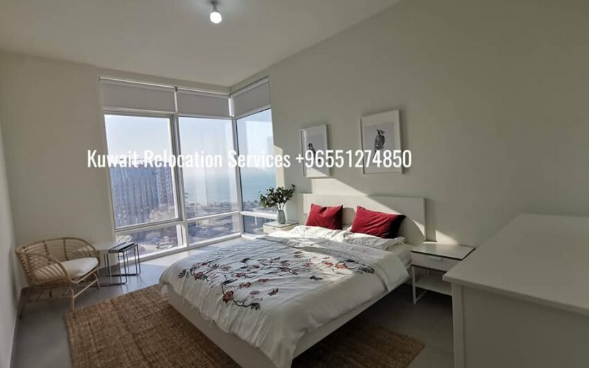 City view and sea view magnificent 3 bed apts. in Dasman