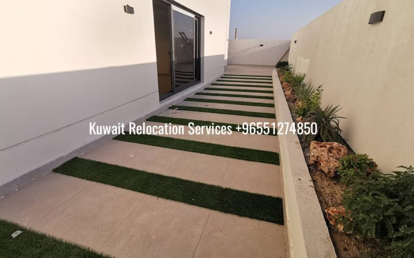 3bedroom with private entrance and good size garden for 850KWD on ground floor