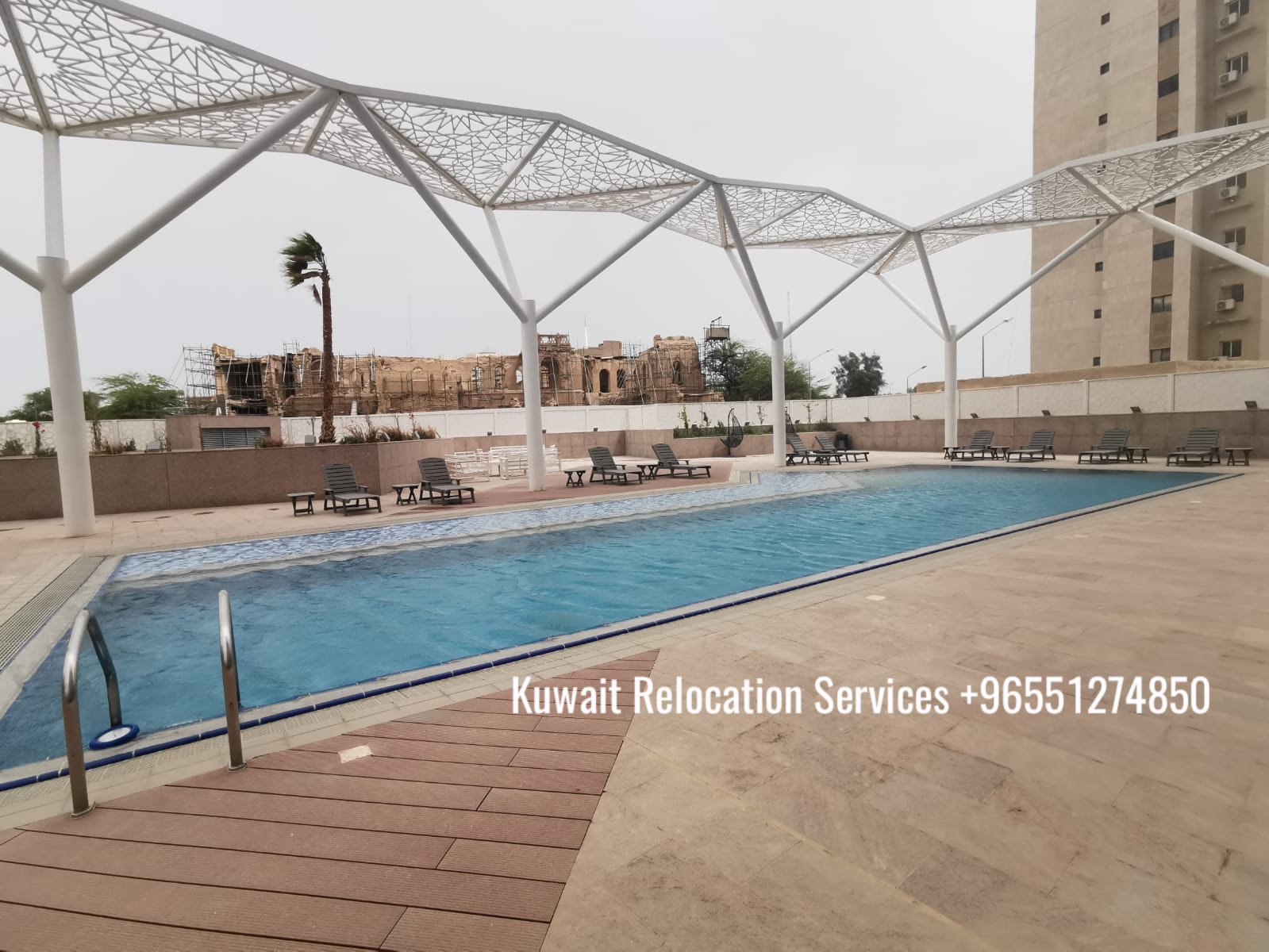 Sea view and city view magnificent 3 bed apts. in Dasman