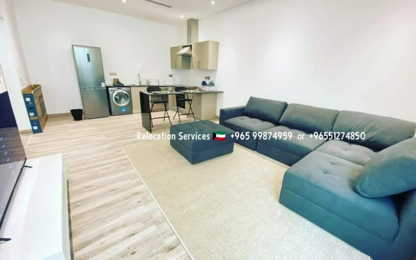Beautiful fully furnished 1bedroom apartments with small balcony.