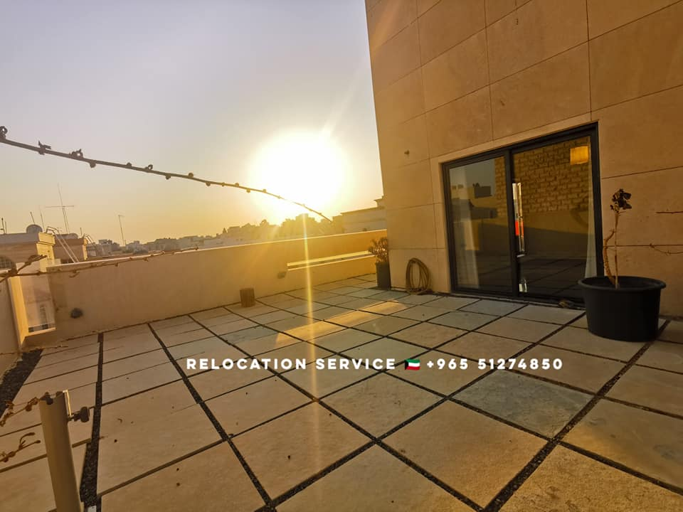 4bedroom penthouse with huge private terrace in Jabriya, Kuwait.